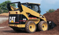 cat skid steer mulch